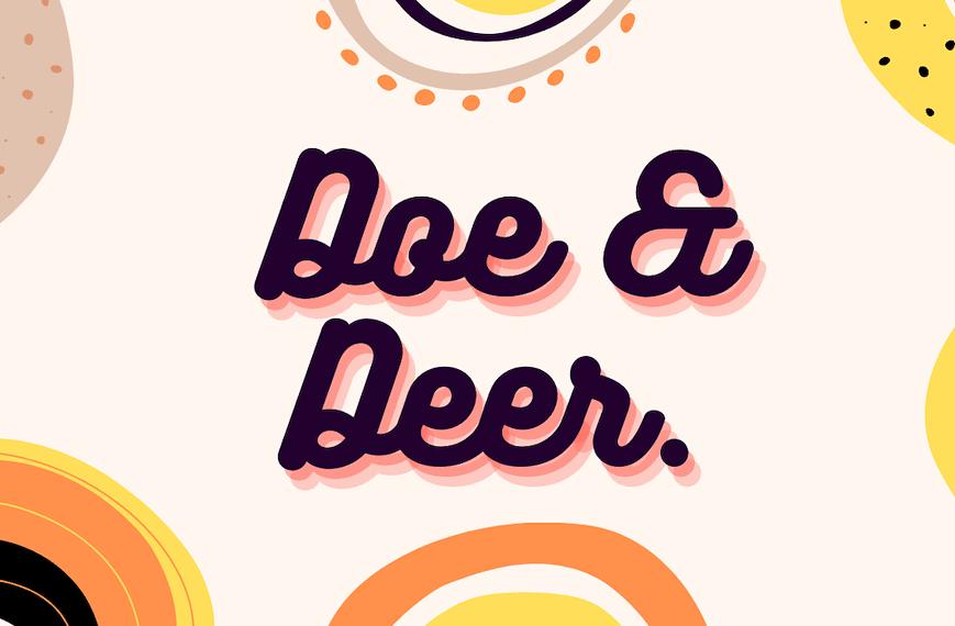 Doe and Deer Crochet