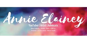 Annie Elainey - YouTuber, Artist, Advocate for Body Positivity, Gender, Race, LGBTQ+, Disability, Chronic Illness, Mental Health
