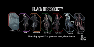 Title for Black Dice Society profile